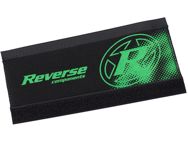Reverse Neoprene Chainstay Guard, black/neon green